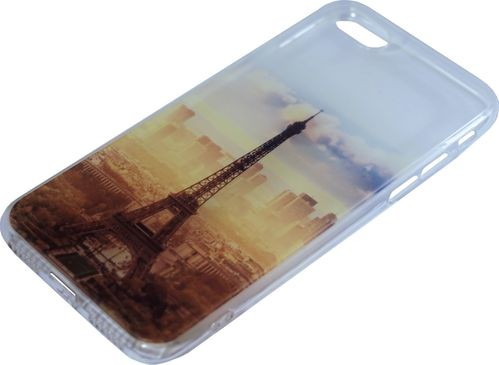 Apple iPhone 7 / 8 / SE Silikon back Cover Paris
