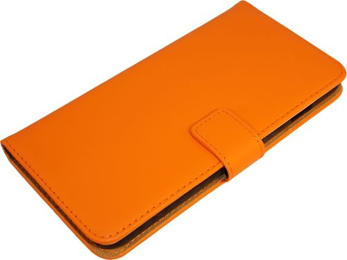 iPhone 7 / 8 Plus Case Leder orange Seite