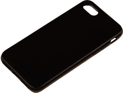Apple iPhone 7 / 8 / SE Silikon back Cover schwarz