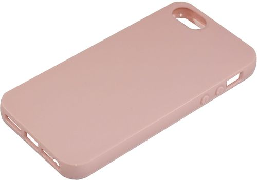 Apple iPhone 5 / 5s Silikon back Cover rose