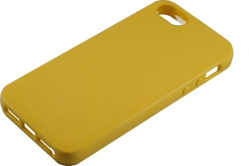 Apple iPhone 5 / 5s Silikon back Cover gelb