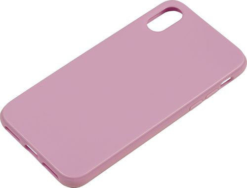 iPhone X / XS Silicon back Cover lavendel