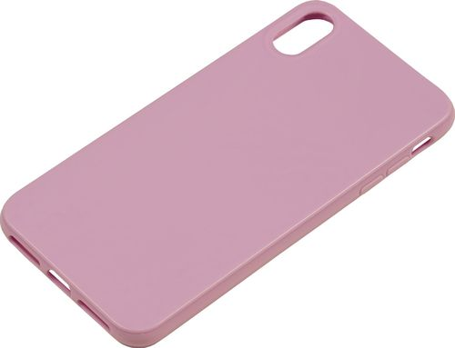 Apple iPhone XS Max Silikon back Cover lavendel