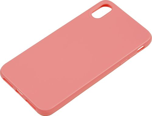 Apple iPhone XS Max Silikon back Cover rose