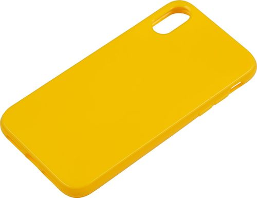 Apple iPhone XR Silikon back Cover gelb