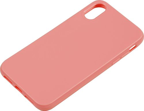 Apple iPhone XR Silikon back Cover rose