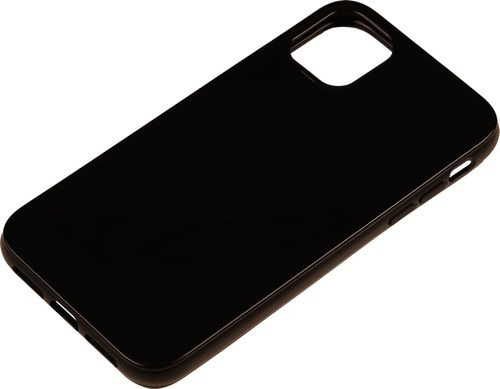 iPhone 11 Silicon back Cover schwarz