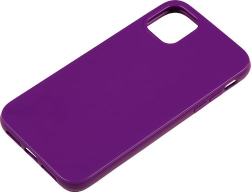 iPhone 11 Silicon back Cover violett