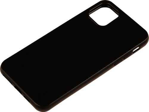 Apple iPhone 11 Pro Max Silikon back Cover schwarz