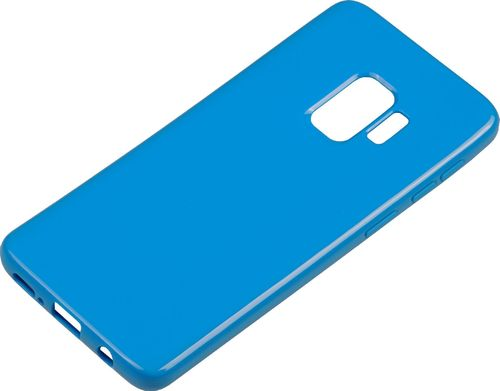 Samsung Galaxy S9 Silikon back Cover blau